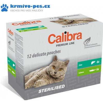 Calibra Cat kapsa Premium Sterilised multipack 12x100g