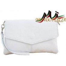 ccf075edbf Made In Italy kožená kabelka 798 bílá
