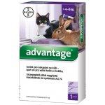 Bayer Advantage pro velké kočky a králíky spot-on 1x 0,8ml