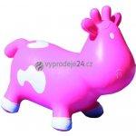 Skákací zvířátko BETSY - kravička růžová