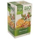 Apotheke BIO Zázvorový čaj s pomerančem 20 x 1.5 g