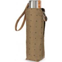Cachemir Pocket se vzorem - pánský skládací mini deštník hnědá