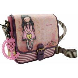 3a81acd365 Santoro London Gorjuss taška přes rameno The Secret fialová růžová ...