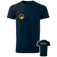 Tričko Black Mesa SECURITY Force námořní modrá