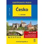 ČESKÁ REPUBLIKA 1:100 000 AUTOATLAS 2016