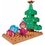 PlayBig Bloxx Máša a medvěd Starter set Máša a vánoční stromeček