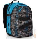 Topgal Studentský batoh HIT 148 D černo/modrý 2014