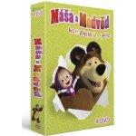 Máša a medvěd 1-4 DVD