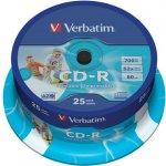 Verbatim CD-R 700MB 52x, cakebox, 25ks (43432)