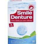WP SMILE DENTURE čistící tablet na zubní náhrady 30 tablet