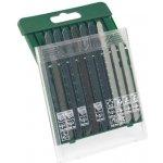 Bosch 10dílná sada pilových plátků na dřevo/kov/plast T-stopka