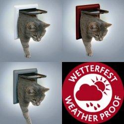 Ostatní pomůcky pro kočky Trixie Průchozí dvířka FreeCat DeLuxe 4 funkce 21x21cm