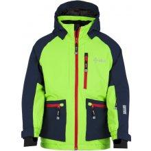 Kilpi chlapecká lyžařská bunda Jackyl Jb FJ0004KILGN zelená