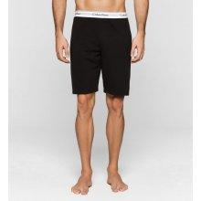 Calvin Klein černé pánské teplákové kraťasy