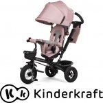 Kinderkraft AVEO Tříkolka vč. příslušenství Růžová