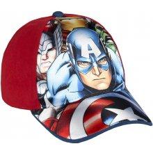 Disney Brand chlapecká kšiltovka Avengers červená