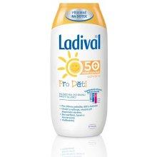 Ladival mléko na opalování pro děti SPF50 200 ml