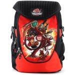 Bakugan batoh 3D nášivka černo-červený