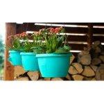 Plastkon Květináč samozavlažovací Marina 20 cm tyrkysový