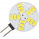 Ledspace LED žárovka 4W 15x2835 G4 400lm TEPLÁ BÍLÁ 12V DC