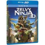 Želvy Ninja 2D+3D BD