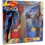DC Comics Superman sprchový gel 150 ml + šampon 150 ml dárková sada