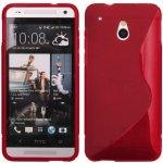 Pouzdro S-Case HTC One Mini / M4 Červené