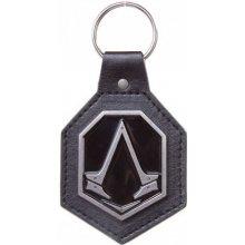 Přívěsek na klíče Assassins Creed: Syndicate logo kovový polyuretan [KE051309ASC] CurePink