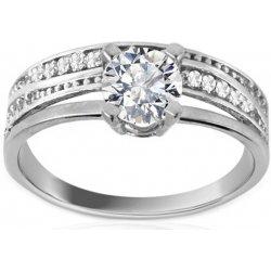 Zlatý zásnubní prsten Tiffany white Twin IZ8894A alternativy ... 1af5e5134a1