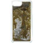 Pouzdro Guess Liquid Glitter Hard iPhone 6/6S/7 zlaté