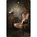 Bohemia Gifts & Cosmetics Aromatická vonná karta Křeslo 10,5 x 16 cm