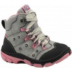 74196bf4205 Bugga Dívčí zimní boty šedo-růžové od 599 Kč - Heureka.cz