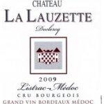 La Lauzette La Lauzette Cru Bourgeois / MédocListrac červené 2009 0,7 l