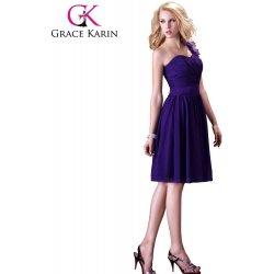 Grace Karin koktejlové společenské šaty CL3431 fialová alternativy ... c467324c7f