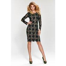 Dámské šaty Marselini 1656 černá 81d0267fc8d