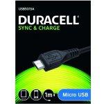 Duracell USB5013A napájecí a synchronizační pro Micro USB, 1m