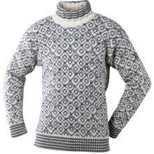 Devold Svalbard sweater high-neckrolákunisexOFFWHITE/ANTH