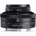 MEYER OPTIK GÖRLITZ 35 mm f/2,8 Trioplan+ Nikon
