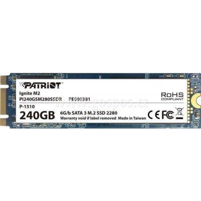 Patriot Ignite 240GB, SSD, SATA, PI240GSM280SSDR