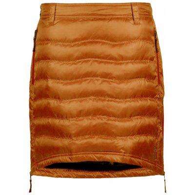 SKHOOP zimní sukně péřová Short Down burnt orange