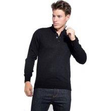 William de Faye pánský svetr černá