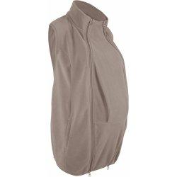 e22aa9ca4f34 Bonprix těhotenská fleecová vesta s baby vsadkou hnědá alternativy ...