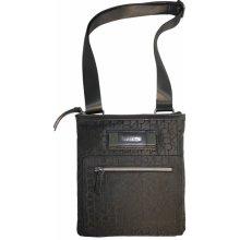 Taška přes rameno CK Calvin Klein flat pack crossbody černá