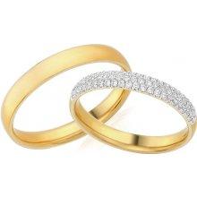 Snubni Prsteny Zlute Zlato Heureka Cz