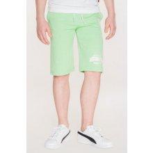 SAM chlapecké šortky 73 KPAL108 532SM zelená jasná