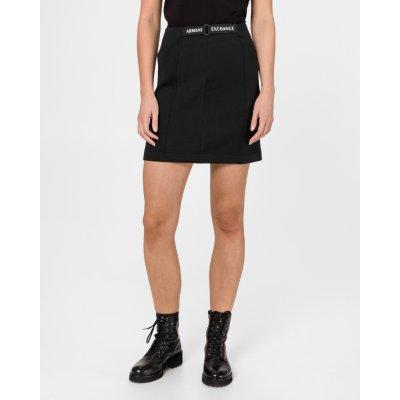 Armani Exchange sukně dámské černá