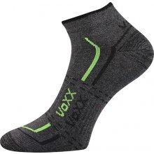 VoXX ponožky Rex 11 tmavě šedá melé včetně nadměrných