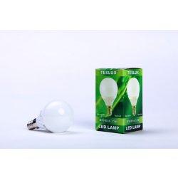 Žárovky Teslux LED žárovka E14 35SMD 3,5W teplá bílá koule B50 ceramic
