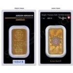 Heraeus Argor zlatý slitek 1oz Kinebar SA Švýcarsko Investiční zlatý slitek