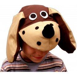 Dětský karnevalový kostým Pes čepička 66de118c2a